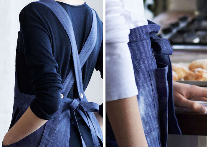 An Apron for All Hours Indigo Edition portrait 5