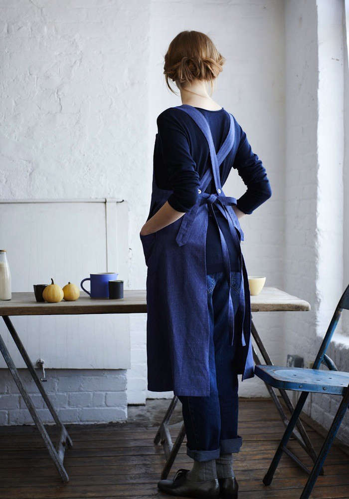 An Apron for All Hours Indigo Edition portrait 3