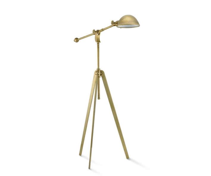 Tripod Light in Gold Tone Williams Sonoma Home