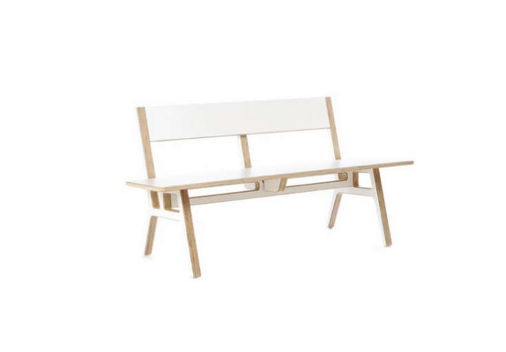 10 Easy Pieces Modern Wooden Benches with Backs portrait 11