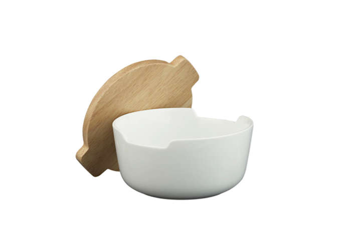 Tuck Bowl with Wood Lid CB2 Remodelista