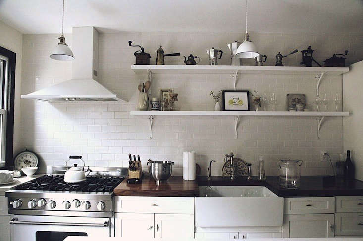 Steal This Look The Kitchen of Urban Cowboy Bed  Breakfast in Brooklyn portrait 4