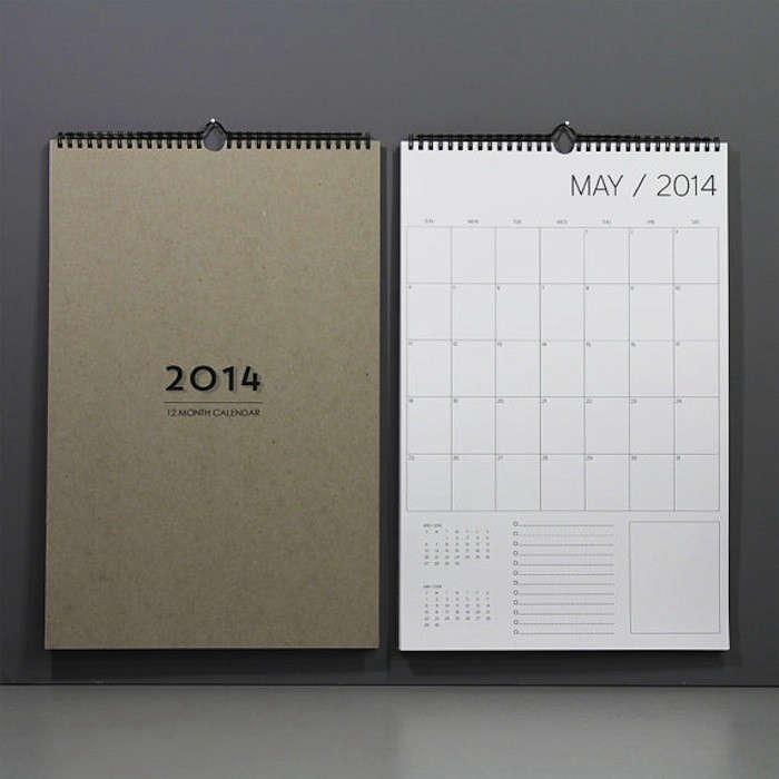 5 Favorites 2014 Wall Calendars  portrait 3