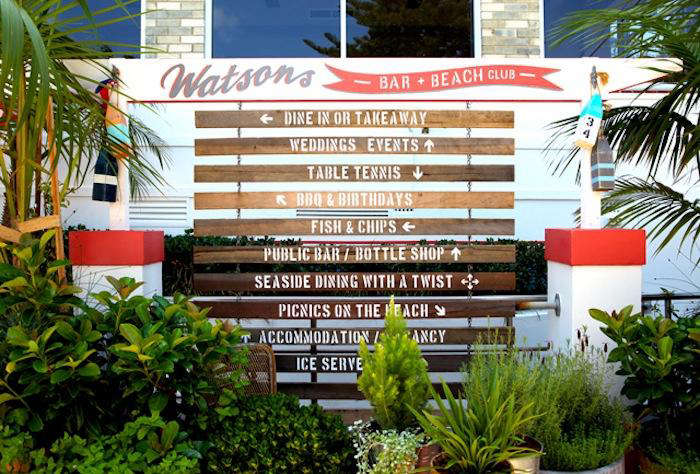 wooden slats function as directional signs which help guests find their destina 9