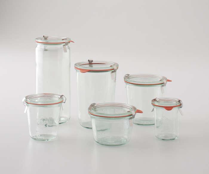 Weck Glass Storage Jars Heath Schoolhouse Electric Remodelista