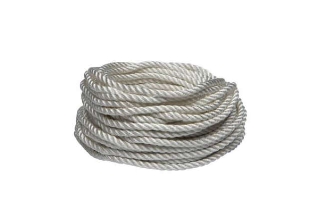 White Poly Braided Rope