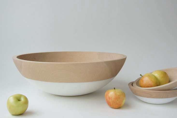 Wind and Willow Home dipped salad bowls Remodelista