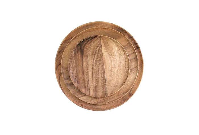 Wooden Plates Brookfarm General Store