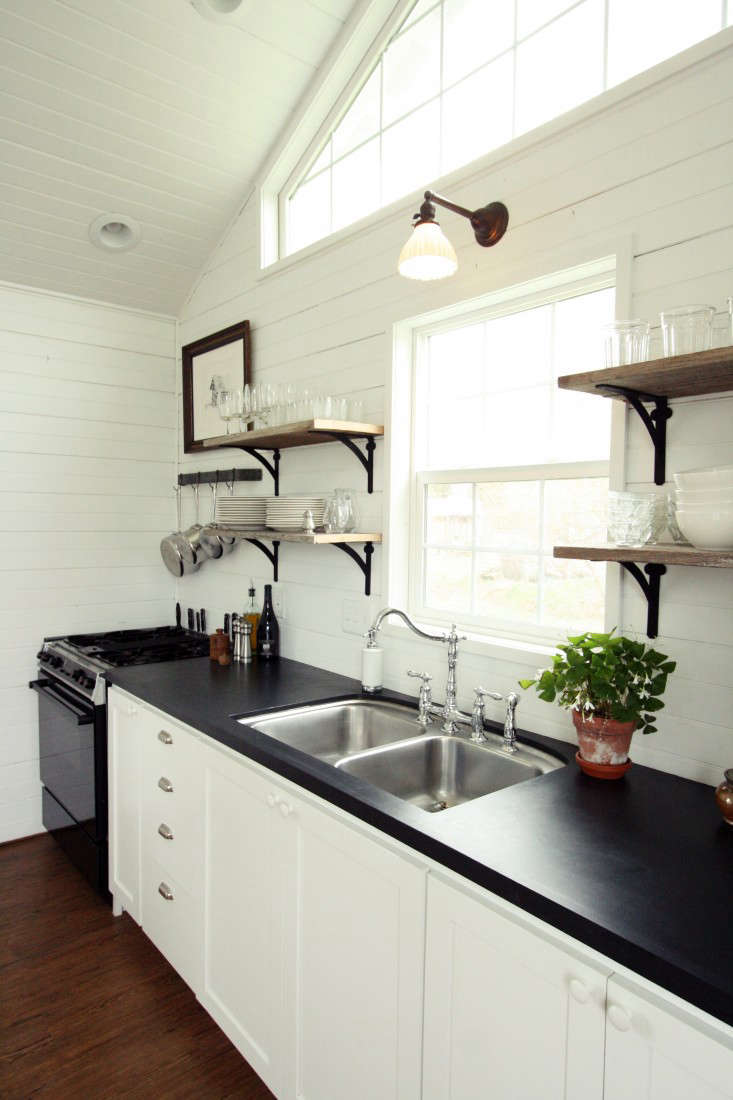 SmallSpace Living A LowCost Cabin Kitchen for a Family of Five  portrait 5