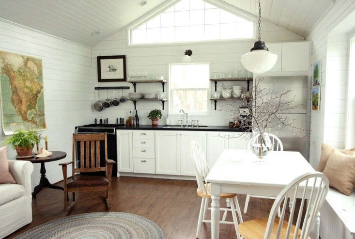 SmallSpace Living A LowCost Cabin Kitchen for a Family of Five  portrait 11