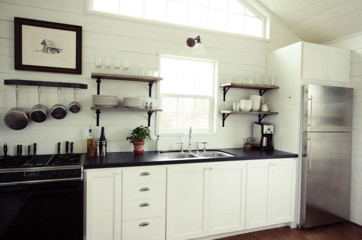 SmallSpace Living A LowCost Cabin Kitchen for a Family of Five  portrait 3