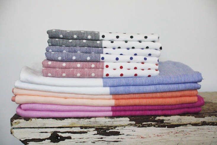 Summer Towels in Sherbet Shades portrait 5