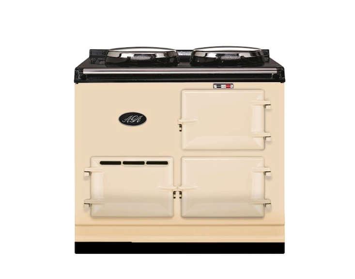 aga cooker range in cream remodelista