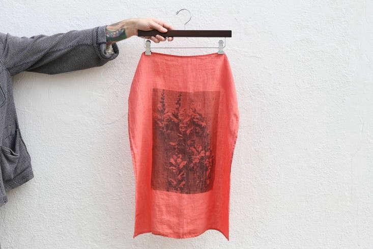alder co linen tea towel