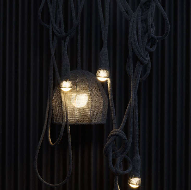 Design Sleuth Knitted Wool Pendant Lights portrait 4