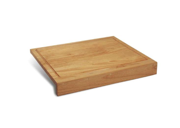 blanco countertop cutting board red alder remodelista