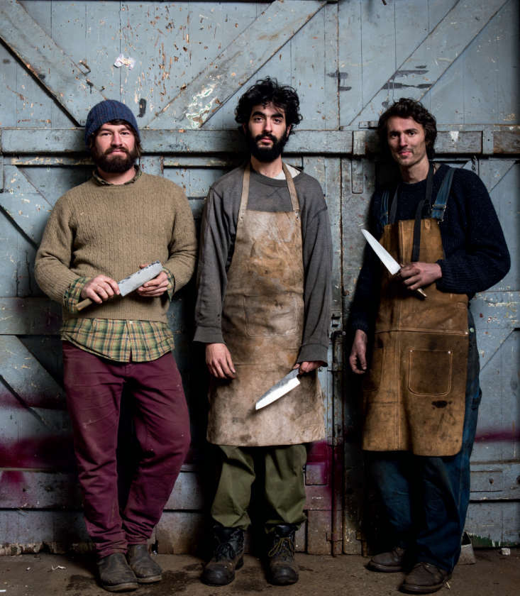 Blenheim Forge Grassroots Kitchen Knives from South London portrait 7