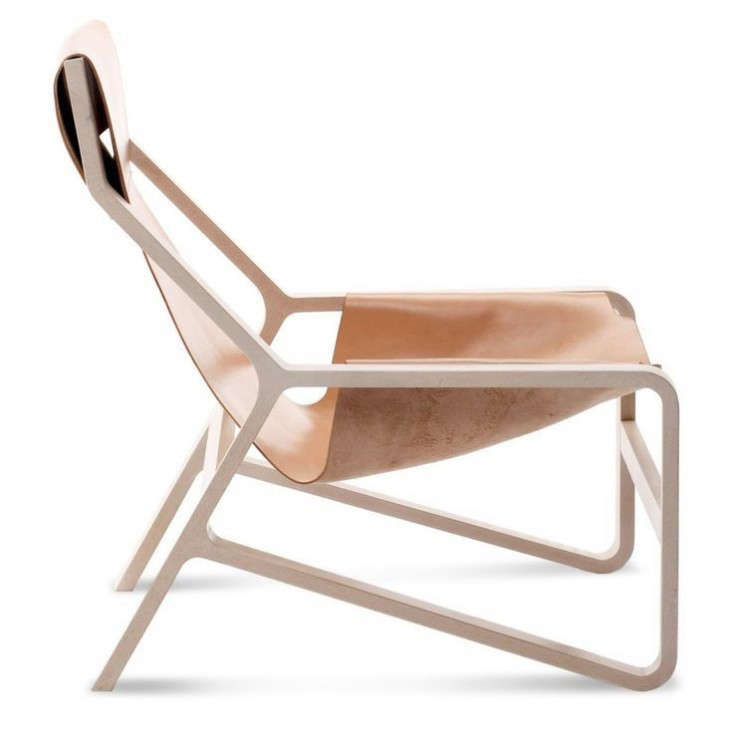 10 Easy Pieces The New Pale Leather Lounge Chair portrait 5