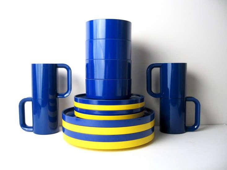 blue yellow hellerware