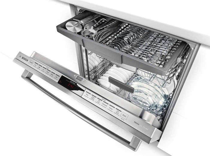 bosch 800 series dishwasher angle