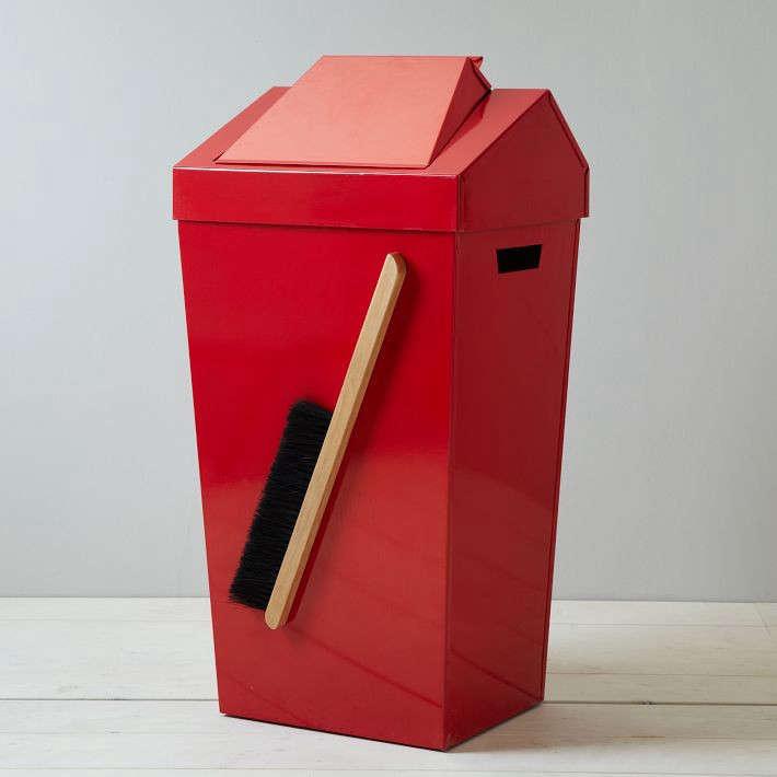 brendan ravenhill red dustpin remodelista