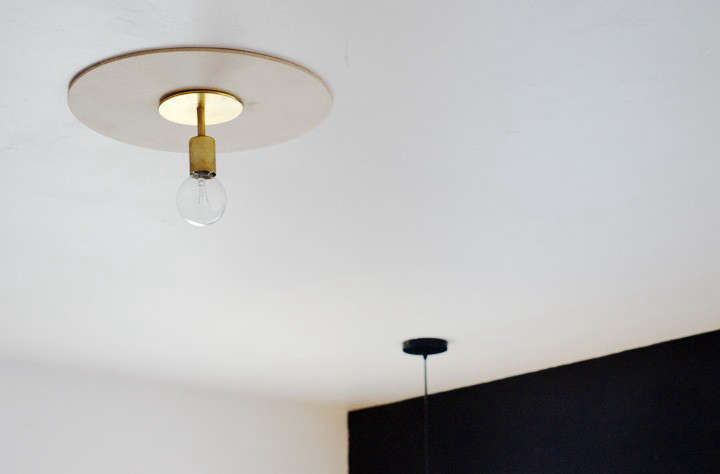 DIY Ceiling Medallion from the Brick House portrait 3