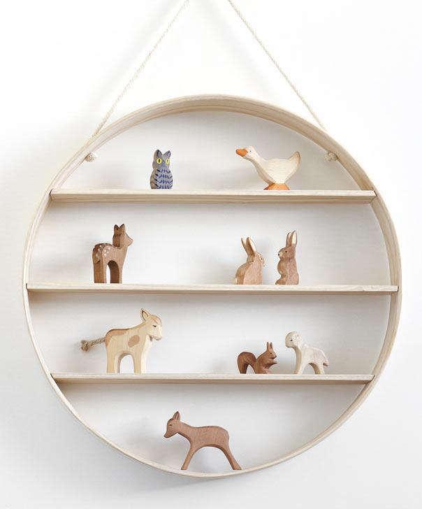 bride wolfe circle shelf