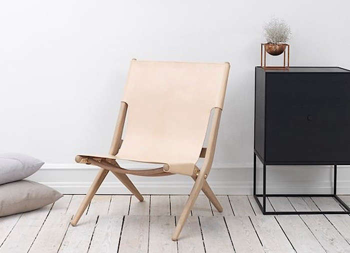 10 Easy Pieces The New Pale Leather Lounge Chair portrait 3