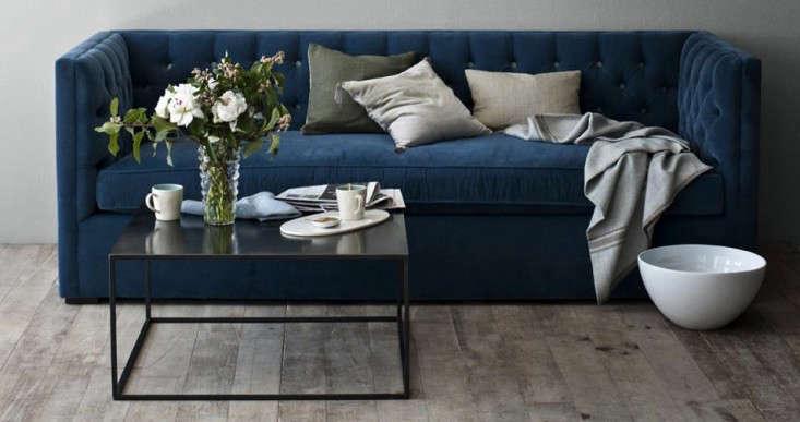 10 Easy Pieces The Blue Velvet Sofa Luxe Edition portrait 6