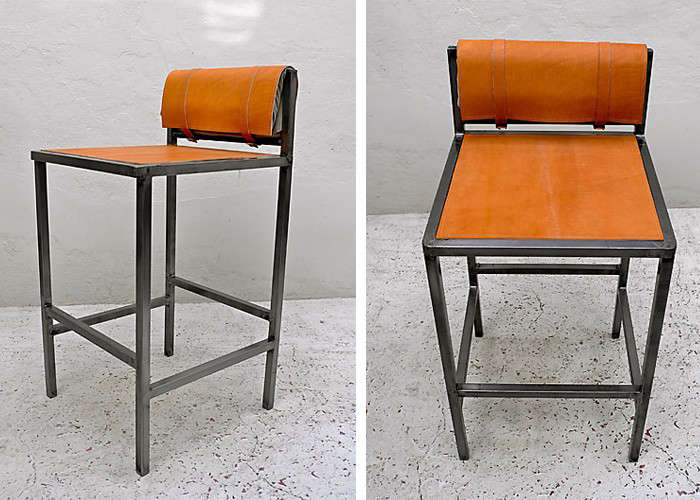 10 Easy Pieces Leather Barstools portrait 5