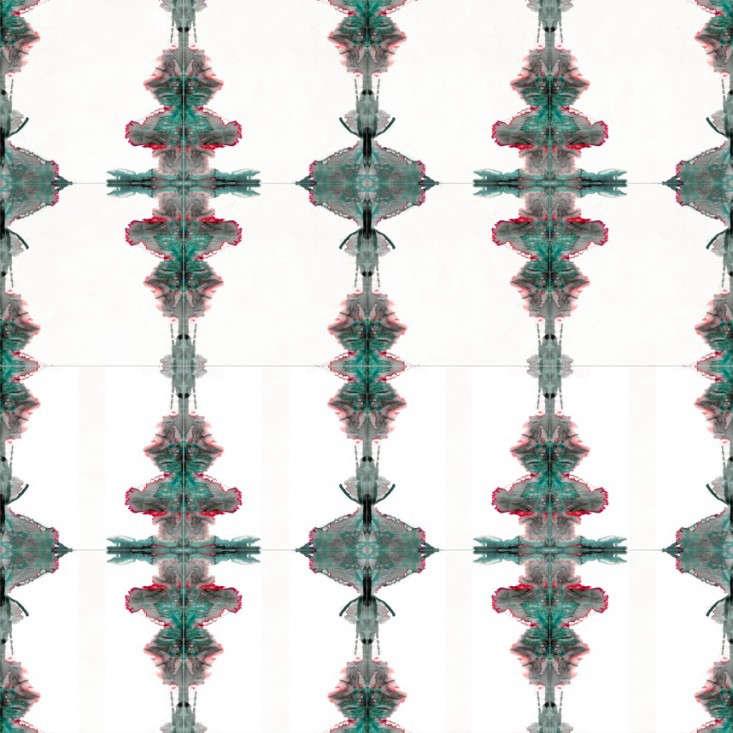 cle tiles timorous beasties sphere stripe wall pattern Remodelista