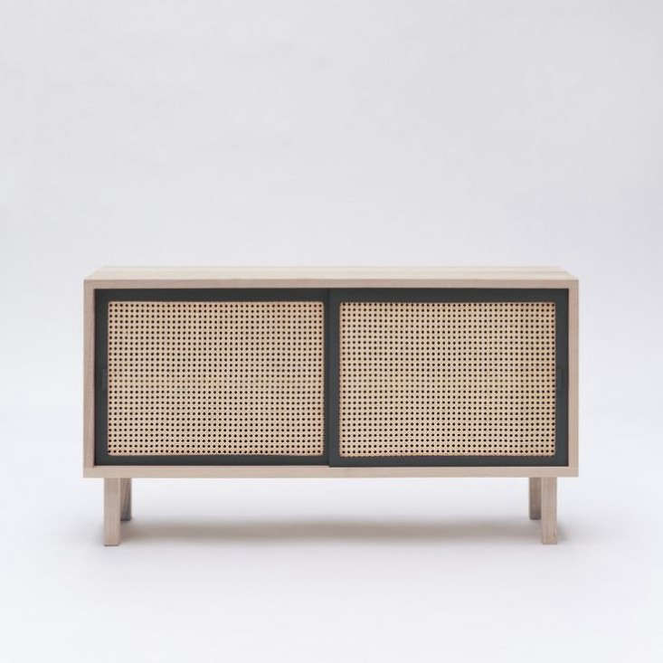 colonel cane sideboard gray