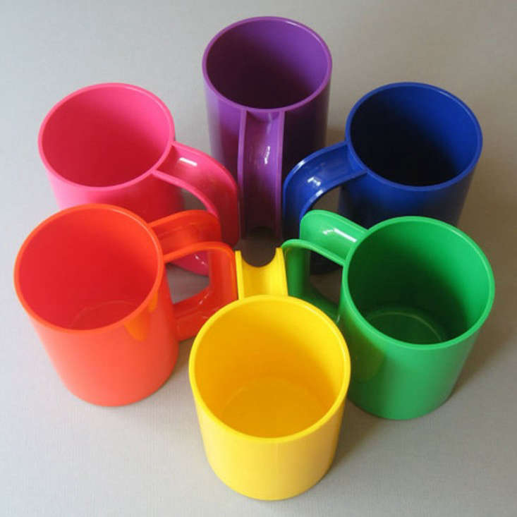 colored heller mugs placewares