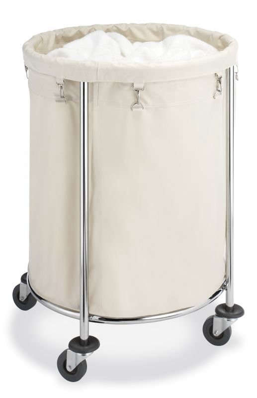 5 Favorites Wheeled Canvas Laundry Hampers portrait 7