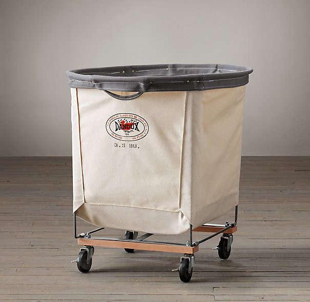 5 Favorites Wheeled Canvas Laundry Hampers portrait 5