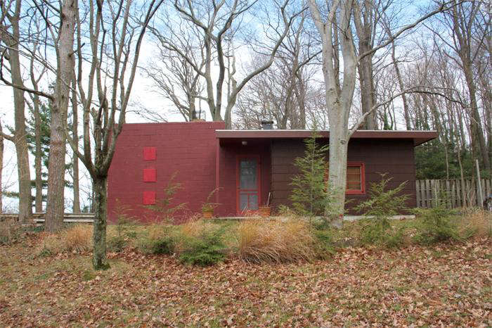 Reader Rehab Cabin Color That Takes Its Cue from the Landscape portrait 4