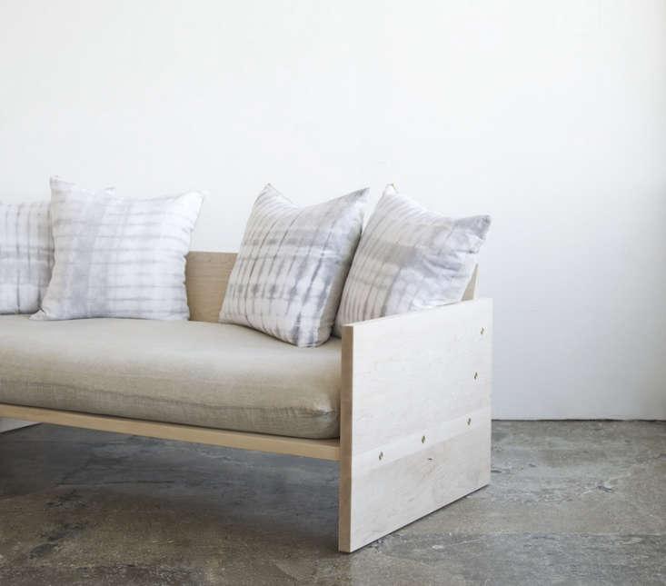 A Modern Daybed Sofa HandDyed Shibori Included portrait 6