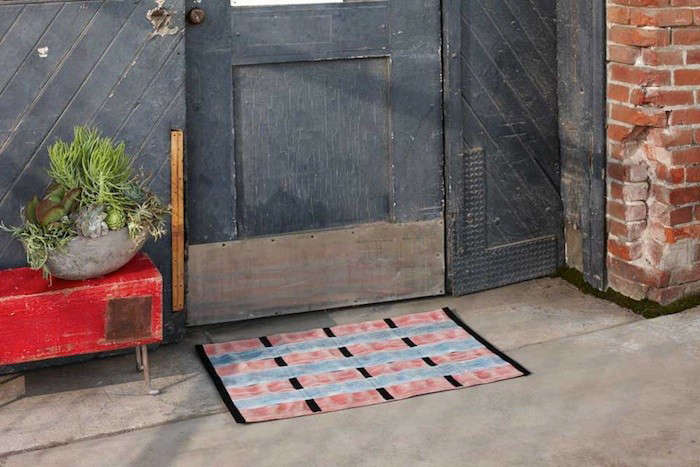Door Mats Made from Recycled Fire Hoses portrait 3