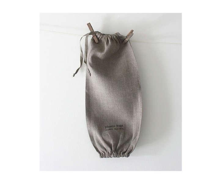 fog linen work plastic bag holder remodelista