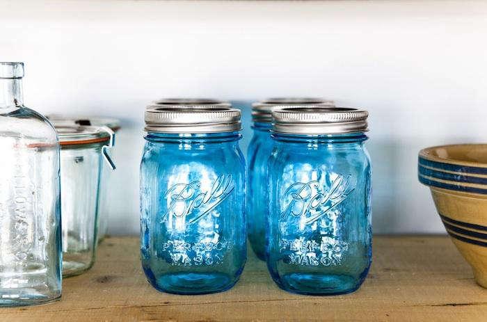 food 52 blue jars