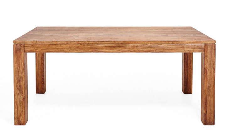 form teak table abc home remodelista