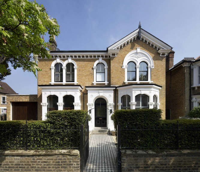 found associates front house chiswick