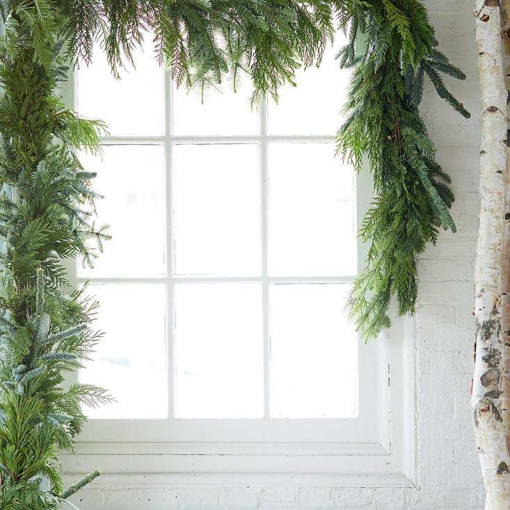 garland noble fir gardenista
