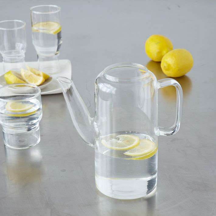 glass pitcher conran west elm 0