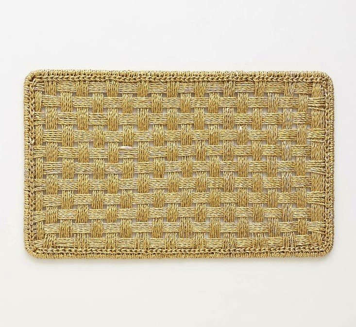 Domestic Science Silver and Gold Doormats portrait 5