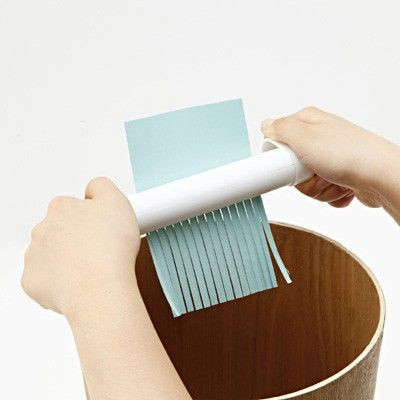 Clear the Decks 11 Ideas for Controlling Desktop Paper Shredder Included portrait 11
