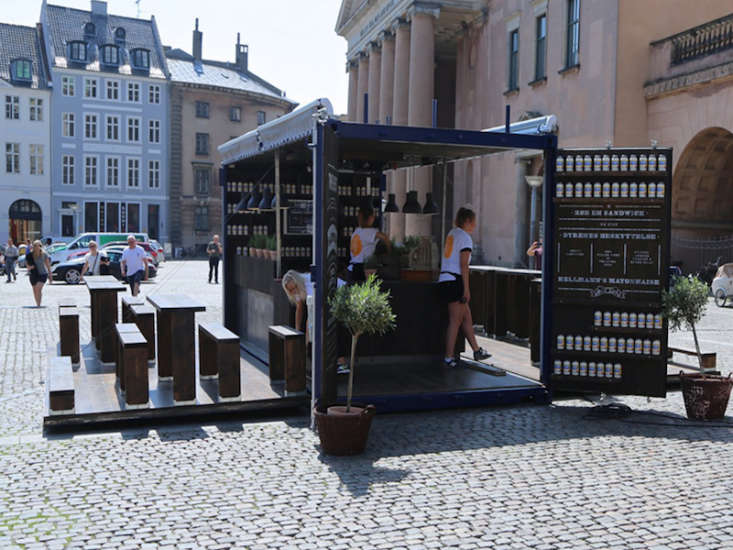 An inspired shipping container pop-up restaurant from an unexpected source: Hellmann&#8
