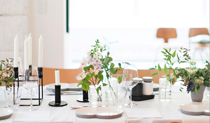 a festive table fit for any early summer fete, solstice celebrations included.  9