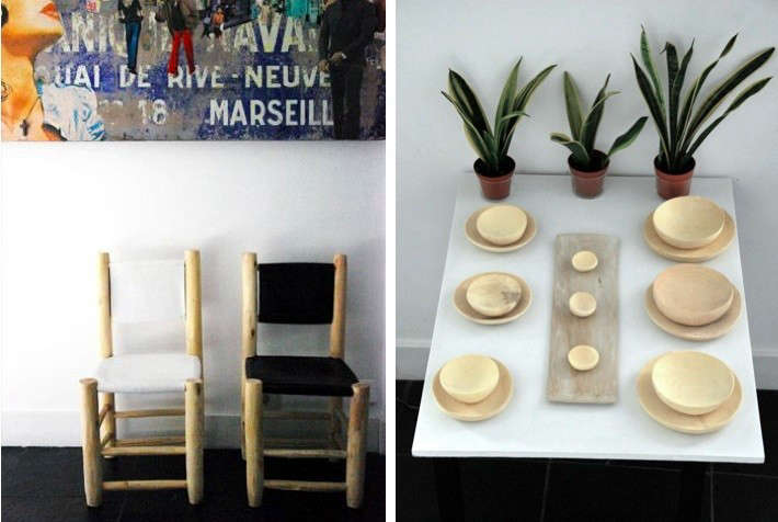 honore decoration plates chairs 11