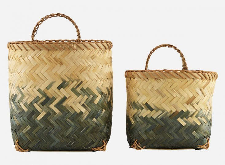 house doctor woven bamboo plant baskets gardenista